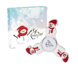 PromoSpinner™ - Snowman with Custom Box