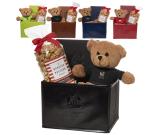 Tuscany™ Notebook, Teddy Bear & Popcorm Set - Tan