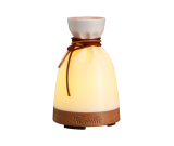 Custom Designer Essential Oil Aroma Diffuser with Personal Humidifier - Wood Base