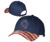 Patriotic Structured Baseball Cap