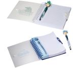 """MopTopper™ Stethoscope Stylus Pen & Notebook Set - 6""""w x 7""""h x 0.787""""d"""