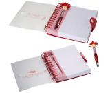 "Canada Patriotic MopTopper™ Stylus Pen & Notebook Set - 6""w x 7""h x 0.787""d"