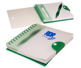 """Stowaway Pen/Journal Notebook Set - 6""""w x 7""""h x 0.5""""d"""