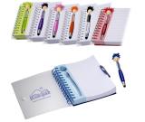 """MopTopper™ Pen & Notebook Set - 6""""w x 7""""h x 0.787""""d"""