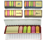 "Pocket Jotter With Stickies - 2.25"" w x 5.125"" h x .3125"" d"