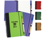 "Contrast Paperboard Eco Journal - 5.5"" w x 7.125"" h x .5"" d"