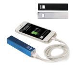 Portable Metal Power Bank Mobile Charger (UL Certified) - 2200mAh