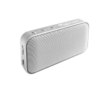 Aluminum Alloy + Faux Leather Portable Bluetooth Speaker
