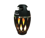 Custom LED Flame Lamp Torch Atmosphere Bluetooth Speaker