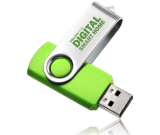 Swivel USB Flash Drive - 16GB