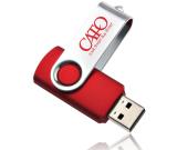 Swivel USB Flash Drive - 2GB