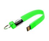 Keychain Rubber USB Drive 16 GB