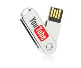 Metal Swivel USB Flash Drive 16 GB