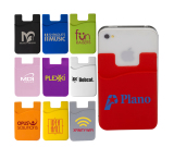 Econo Silicone Cellphone Pocket / Card Holder / Wallet