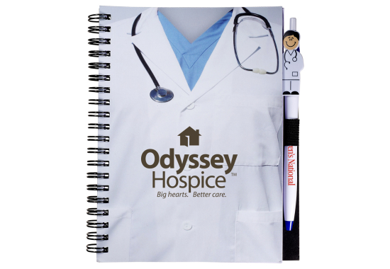 promotional doctor notebook combo