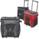 "Diamond Collection 42-Can Rolling Cooler Bag - 17""w x 12.5""h x 10.25""d"