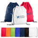 Sports Jersey Mesh Drawstring Backpack - 14.5''w x 17.5''h
