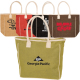 "Seville Jute Canvas Tote Bag - 19""w x 14""h x 5""d with 19"" long handles"
