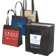 "Insulated Non-Woven Grocery Tote Bag - 11-1/2""w x 14-1/2""h x 10""d"