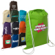 "Cotton String-A-Sling Backpack - 3-3/4""w x 17-3/4""h"