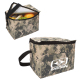 "Digital Camo 6 Pack Cooler Bag - 8"" W x 5.75"" H x 5.5"" D"