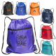 "Mesh Drawstring Backpack - 14"" W x 16.5"" H"