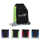 "Color Curve Drawstring Bag - 14.125"" W x 14.5"" H"