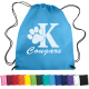 "Non-Woven Drawstring Cinch Up Backpack - 14.5"" W x 17.5"" H x .125"" D"