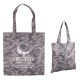 "Digital Camouflage RPET Value Tote - 13.5"" W x 14.5"" H"