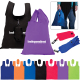 """Polyester Folding Grocery Tote - 13.625"""" W x 19"""" H"""