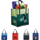 "Big Grocery Laminated Non-Woven Tote - 15"" H X 10"" W X 13"" D"