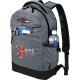 "Graphite Slim 15"" Computer Backpack - 18.25"" H X 5.5"" W X 11.75"" D"