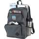 "Graphite Deluxe 15"" Computer Backpack - 17.5"" H X 6.5"" W X 12"" D"