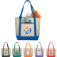 "Lighthouse Non-Woven Boat Tote - 13.5"" H X 17.75"" W X 6"" D"
