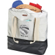 "Cutter & Buck® 16oz. Cotton Boat Tote Cooler - 16.5"" H X 6.7"" W X 20"" D"
