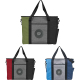 "Triad Zippered USB Tote - 15.25"" H X 4.75"" W X 17.75"" D"
