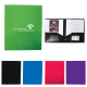 """2 Pocket Folder With Business Card Slots - 9.44"""" w x 11.44"""" h x 0.06"""" d"""