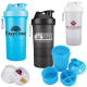 SmartShake™ Original Compartment Fitness Shaker Bottle - 20 oz.