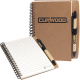 "Stone Paper Spiral Notebook with Pen Combo - 5.5""w x 7""h"
