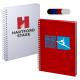 """Hardcover Spiral Notebook - 5-3/4""""w x 8-1/4""""h x 1/2""""d"""