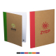 """Color-Pop Recycled Notebook -  5""""w x 7""""h"""
