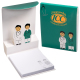 """Doctor and Nurse 3-D Sticky Pad Notebook -  3.125""""w x 4""""h x 0375""""d"""