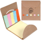 "Pocket Sticky Note Memo Book - 3.25"" w x 3.375"" h x .125"" d"