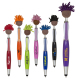 Multi Culture Moptopper™ Screen Cleaner With Stylus Pen(Brown Skin Color)