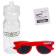 Fashion Sunglasses & Lens Cleaner in 24 oz. Sports Bottle