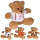 "7"" GameTime® Plush Bear Stuffed Animal"