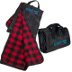"Fleece/Nylon Picnic Blanket - 48""w x 60""h x 0.125""d"