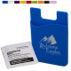 Silicone Mobile Device Cellphone / Pocket / Card Holder / Wallet & Lens Cleaning Wipes