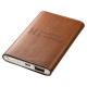PU leather Tuscany™ Slim Executive Power Bank(UL Certified) - 4000mAh