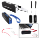 Mini Power Bank Charger W/Led Light & Micro Usb Cable Wrist Strap - 2200mAh (UL Certified)